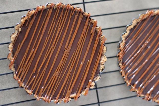 Chocolate Tartlet - bakeforcoffee.com