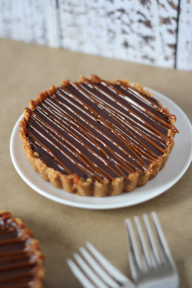 Chocolate Tartlet Recipe - bakeforcoffee.com