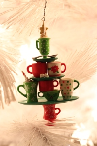 Sweets Themed Christmas Tree via bakeforcoffee.com